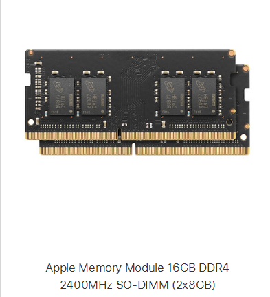 The five memory sticks on apple's shelves are all so-dimm !! - 图片