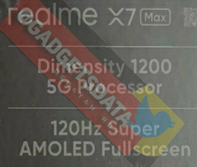 MediaTek Dimensity 1200 is rumored to be used in Realme X7 Max, and the 4nm chip will be released soon. - 图片